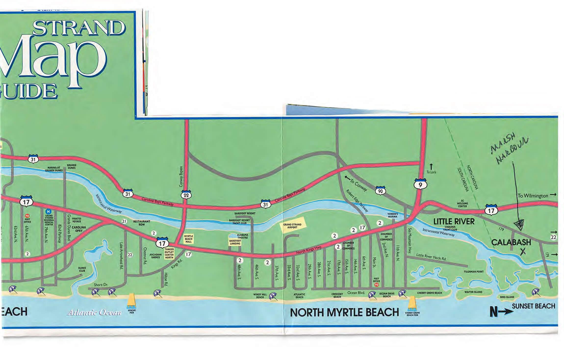 Marsh Harbour MAP